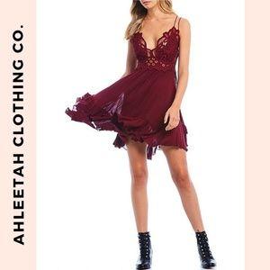 FREE PEOPLE One Adella Slip Dress